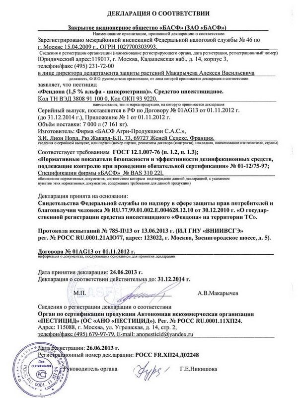 Декларация Фендона