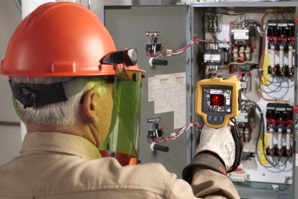Тепловизионное обследование перегрева проводки и электроприборов