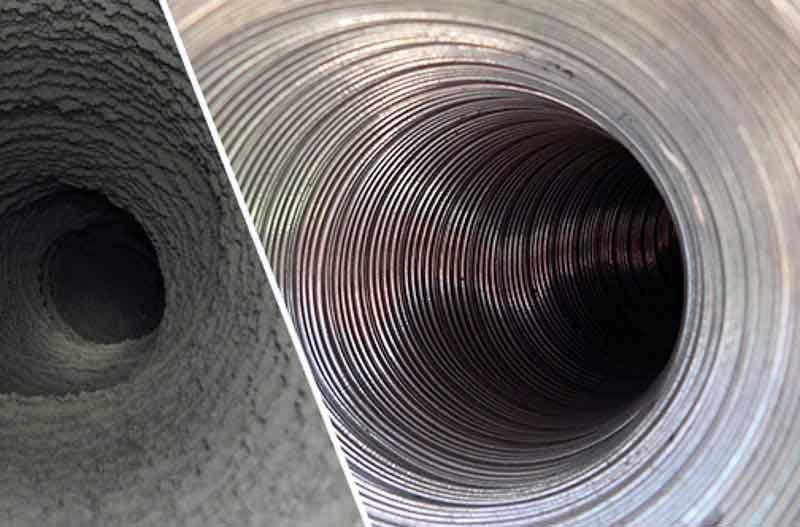 Чистка труб вентиляции