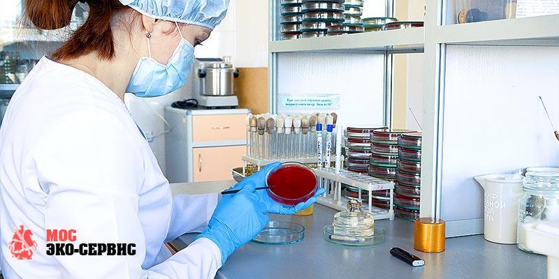 Дезинфекция поверхностей в лаборатории