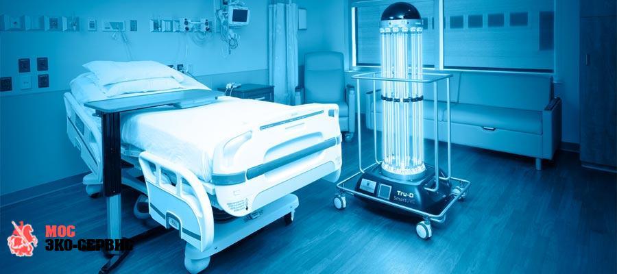 Дезинфекция воздушного пространства медицинской организации