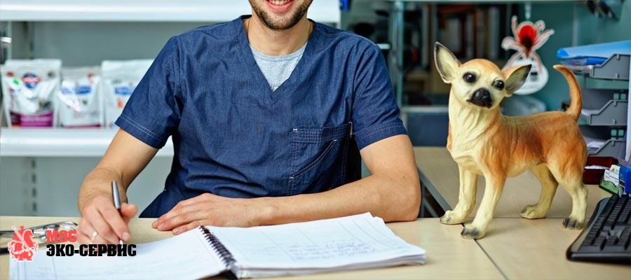 Акт о дезинфекции ветеринарной клиники