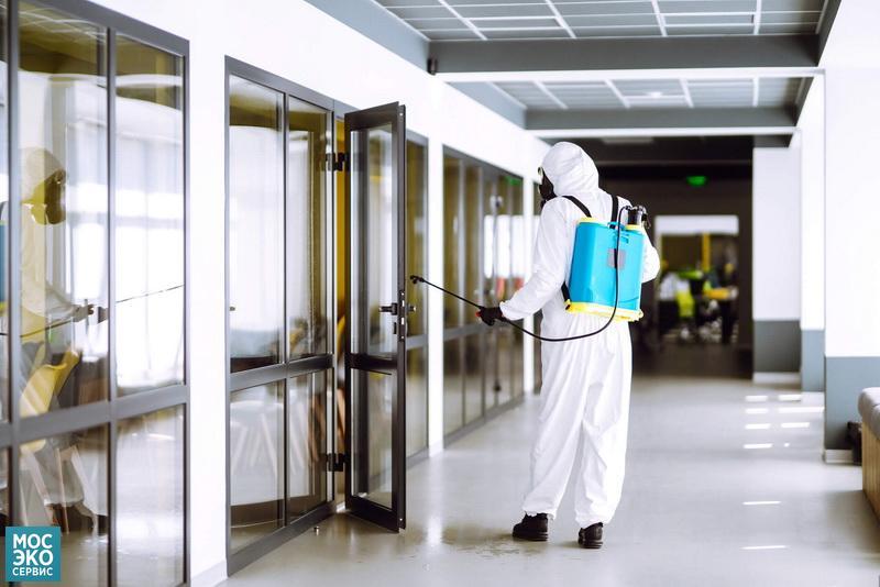 Проведение дезинфекции в гостинице