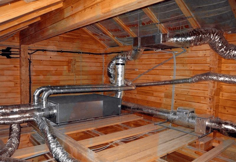 Чистка вентиляции в частном доме